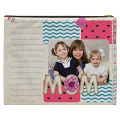 Mothers Day By Mom   Cosmetic Bag (xxxl)   9wzs5b3g82fk   Www Artscow Com Back