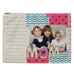 Mothers Day By Mom   Cosmetic Bag (xxl)   645zlmne95xq   Www Artscow Com Front