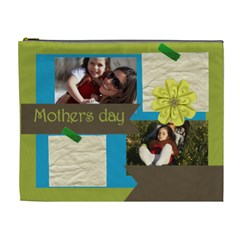 Mothers Day By Mom   Cosmetic Bag (xl)   Kqbd77g45pyk   Www Artscow Com Front