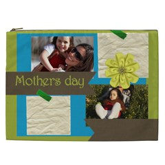 Mothers Day By Mom   Cosmetic Bag (xxl)   S1zm5zxb0wr7   Www Artscow Com Front