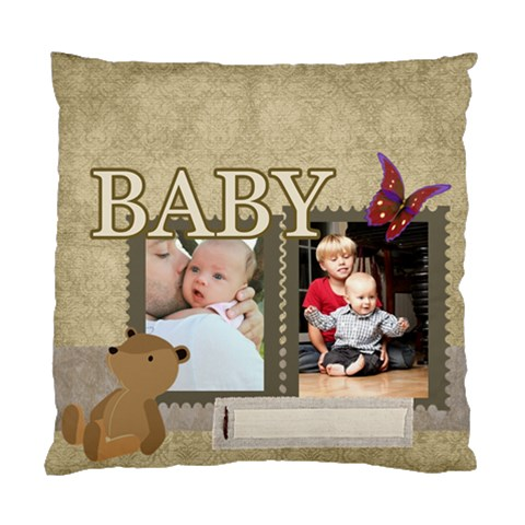 Baby By Baby   Standard Cushion Case (one Side)   Prjsge1u9uh5   Www Artscow Com Front