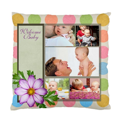 Baby By Baby   Standard Cushion Case (one Side)   Beqp4036q0j1   Www Artscow Com Front