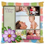 baby - Large Cushion Case (Two Sides)