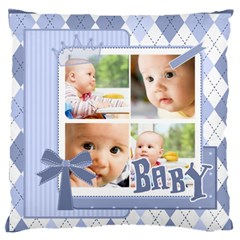 Baby By Baby   Large Cushion Case (two Sides)   Rxflp37z37h6   Www Artscow Com Front