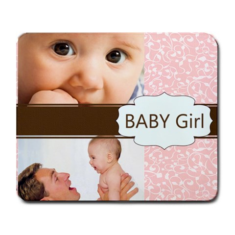 Girl By Joely   Collage Mousepad   Pbtfa19tcur4   Www Artscow Com 9.25 x7.75 Mousepad - 1