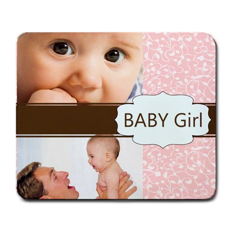 Girl By Joely   Large Mousepad   Lkios5ujj0s4   Www Artscow Com Front