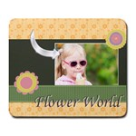 girl - Large Mousepad