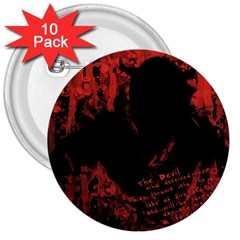 Tormented Devil 10 Pack Large Button (round) by VaughnIndustries