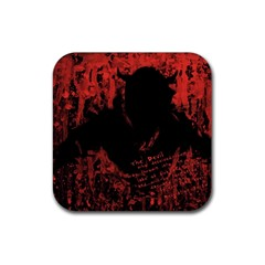 Tormented Devil 4 Pack Rubber Drinks Coaster (square)