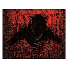 Tormented Devil Jigsaw Puzzle (rectangle) by VaughnIndustries