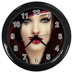 Beautiful Mess Black Wall Clock by VaughnIndustries