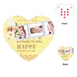 happy birthday - Playing Cards (Heart)