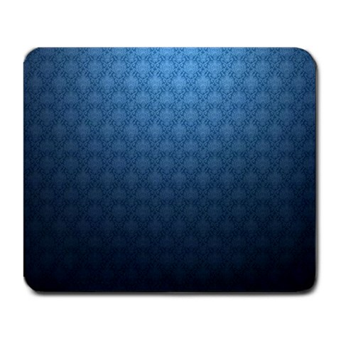 Blue Victorian Design Large Mouse Pad By Matthius   Large Mousepad   A0qr0thetja7   Www Artscow Com Front