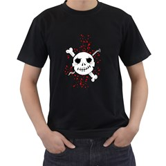 Bonehead Nailed Black Mens'' T Shirt by DarkImage