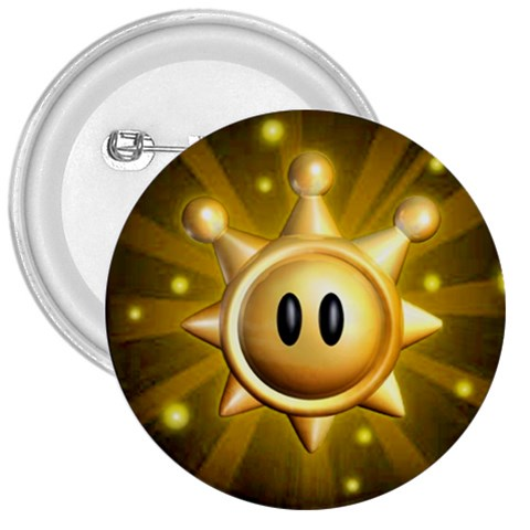 Sun Sprite Button By Brayden Peacock   3  Button   Romn4v9vqoqj   Www Artscow Com Front