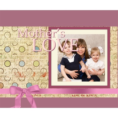 Mothers Day By Mom   Deluxe Canvas 14  X 11  (stretched)   8v7ixqb69flx   Www Artscow Com 14  x 11  x 1.5  Stretched Canvas