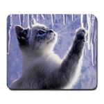 Icicle Kitten - Mousepad - Large Mousepad