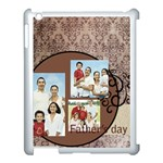 fathers day - Apple iPad 3/4 Case (White)
