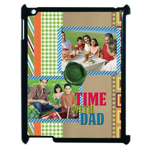 Fathers Day By Dad   Apple Ipad 2 Case (black)   Sx68mm29bahi   Www Artscow Com Front