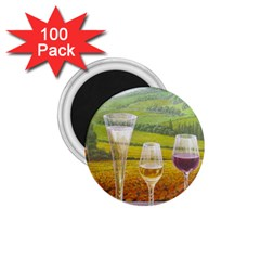 Vine 100 Pack Small Magnet (round) by fabfunbox