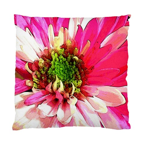 Pink And White Pillow By Laurie   Standard Cushion Case (one Side)   Rei9igcoftgh   Www Artscow Com Front