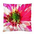 Pink and White Pillow - Standard Cushion Case (One Side)