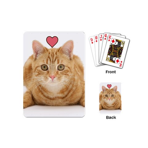 Meow! By Pigs101   Playing Cards (mini)   Y4oqq6sgsdxk   Www Artscow Com Back