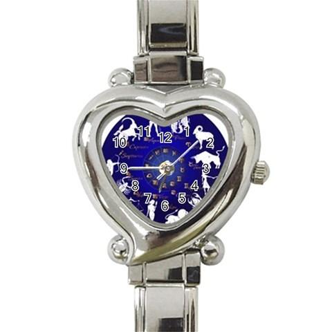 Horoscope, Star By Divad Brown   Heart Italian Charm Watch   Rrktyq6vgu18   Www Artscow Com Front
