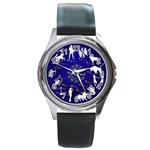 horoscope - Round Metal Watch
