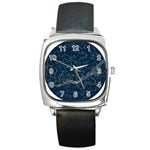 horoscope  - Square Metal Watch