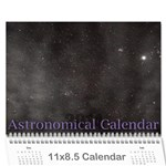 2014 Astronomical Events Calendar - Wall Calendar 11  x 8.5  (12-Months)