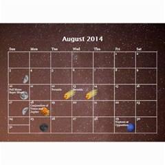 2014 Astronomical Events Calendar By Bg Boyd Photography (bgphoto)   Wall Calendar 8 5  X 6    295k9niihodj   Www Artscow Com Aug 2014