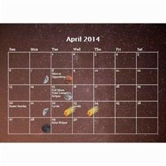2014 Astronomical Events Calendar By Bg Boyd Photography (bgphoto)   Wall Calendar 8 5  X 6    295k9niihodj   Www Artscow Com Apr 2014