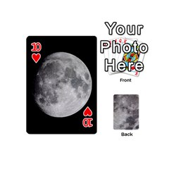 Mini Moon Cards By Bg Boyd Photography (bgphoto)   Playing Cards 54 (mini)   Eq7t3cf6y3d7   Www Artscow Com Front - Heart10