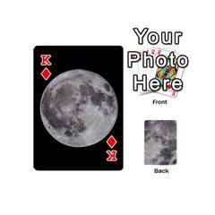 King Mini Moon Cards By Bg Boyd Photography (bgphoto)   Playing Cards 54 (mini)   Eq7t3cf6y3d7   Www Artscow Com Front - DiamondK