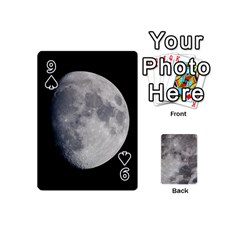 Mini Moon Cards By Bg Boyd Photography (bgphoto)   Playing Cards 54 (mini)   Eq7t3cf6y3d7   Www Artscow Com Front - Spade9
