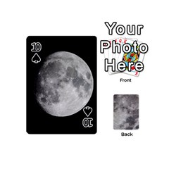 Mini Moon Cards By Bg Boyd Photography (bgphoto)   Playing Cards 54 (mini)   Eq7t3cf6y3d7   Www Artscow Com Front - Spade10