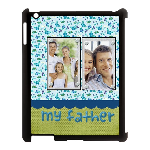 Fathers Day By Dad   Apple Ipad 3/4 Case (black)   Hbf6vhltyxjx   Www Artscow Com Front