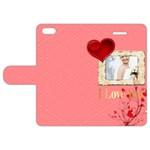 love - Apple iPhone 5 Leather Folio Case