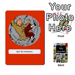 Tintin Incan Gold By James Nicholls   Playing Cards 54 Designs   3a8trjsk7t1v   Www Artscow Com Front - Spade2