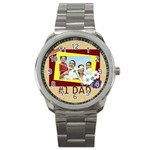 father - Sport Metal Watch