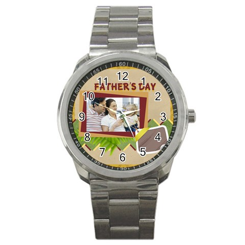 Father By Dad   Sport Metal Watch   J94c5mvf7fc5   Www Artscow Com Front