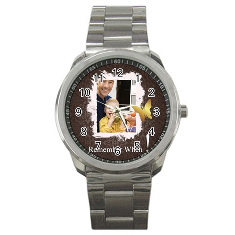 Father By Dad   Sport Metal Watch   0l09z7z12gu7   Www Artscow Com Front