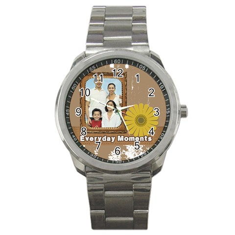Father By Dad   Sport Metal Watch   R4kvxt763l2i   Www Artscow Com Front