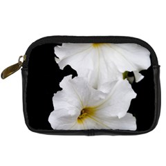 White Peonies   Compact Camera Case