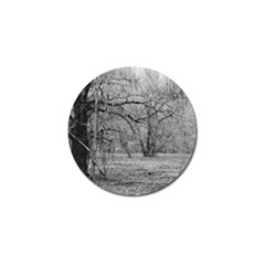 Black And White Forest 10 Pack Golf Ball Marker by Elanga