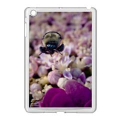 Flying Bumble Bee Apple Ipad Mini Case (white) by Elanga