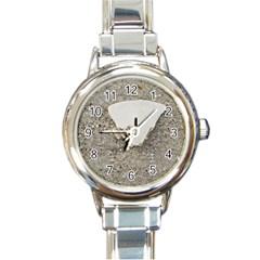 Quarter Of A Sand Dollar Classic Elegant Ladies Watch (round) by Elanga