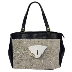 Quarter Of A Sand Dollar Twin Sided Oversized Handbag by Elanga