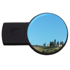 Italy Trip 001 2gb Usb Flash Drive (round) by PatriciasOnlineCowCowStore